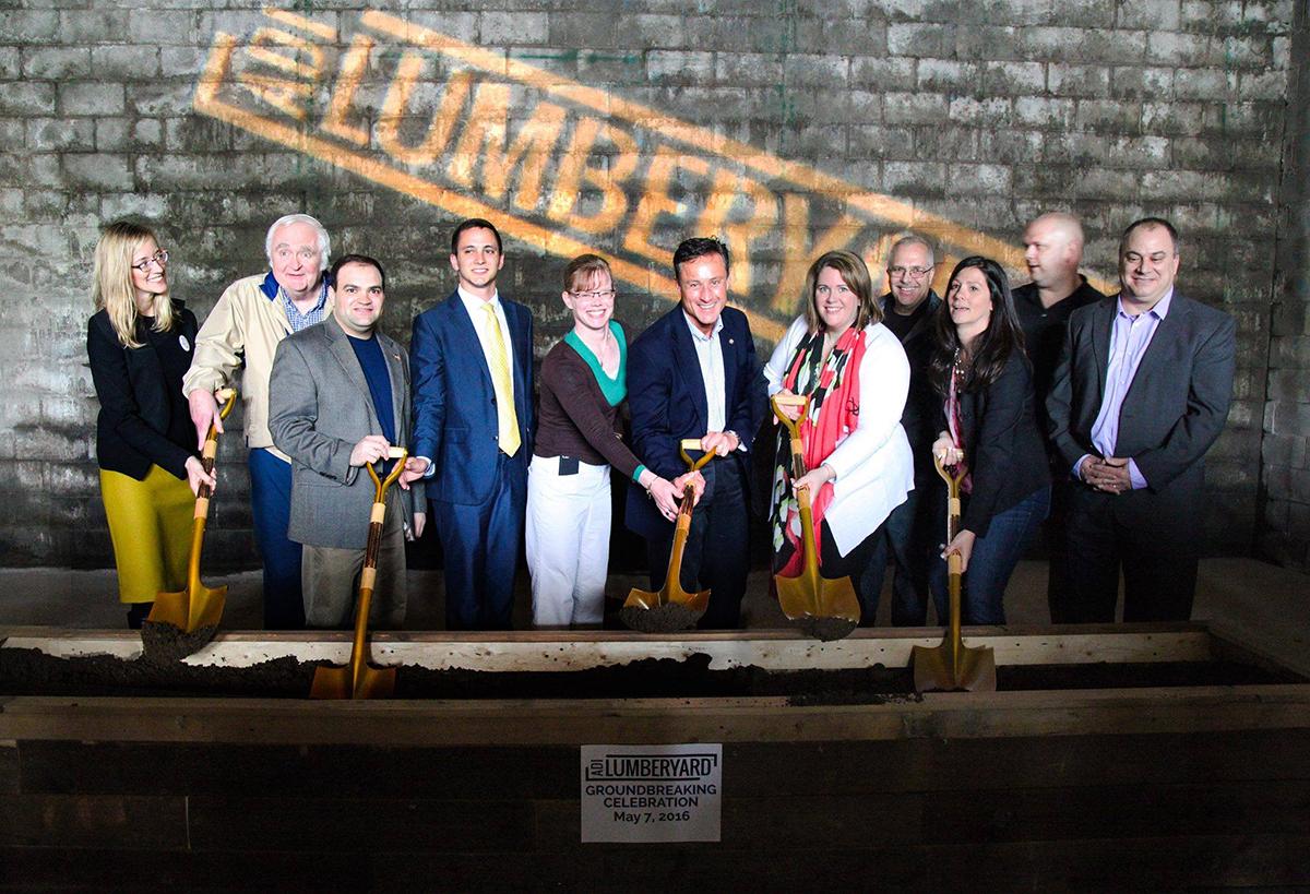 LUMBERYARD Groundbreaking 2016